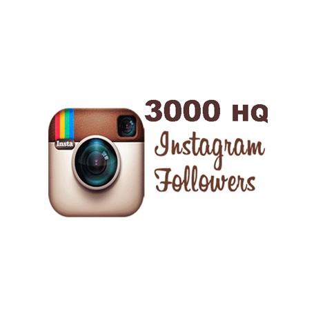 3000 HQ Instagram Followers