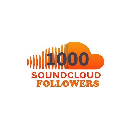 1000 SOUNDCLOUD ABONNENTEN FOLLOWERS KAUFEN