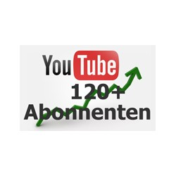 YOUTUBE Subscribers 120