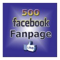 500+ FACEBOOK FANPAGE LIKE
