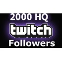 2000 Twitch Followers
