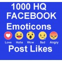 1000+ FACEBOOK Emoticons LIKE