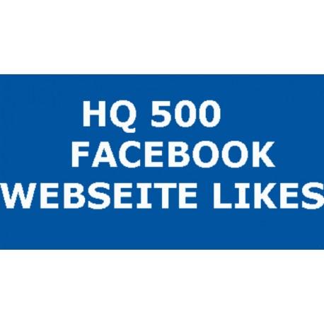 500+ FACEBOOK WEBSITE LIKE