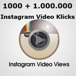I will add you 1,000+1,000,000 Super Fast High Quality Instagram video Views