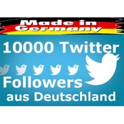 TWITTER Followers aus Deutschland