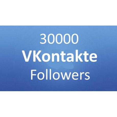 VKontakte (VK.com) Follower kaufen