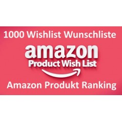 Amazon Wishlists From Verified Account Following