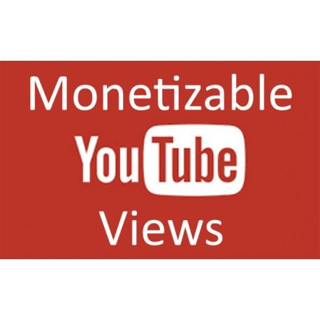 Buy Monetizable YouTube Views