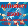 2500 Dofollow-, High-Pa-, Edu- und GoV-Backlinks