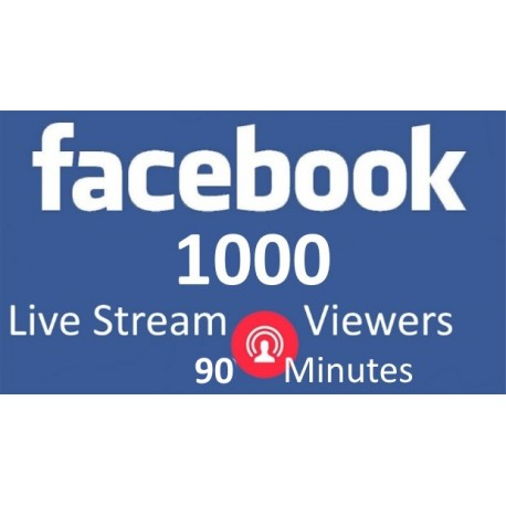 Buy Facebook Live Stream Views