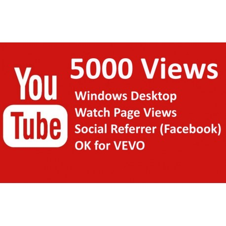 5000 YOUTUBE Views Klicks Kaufen