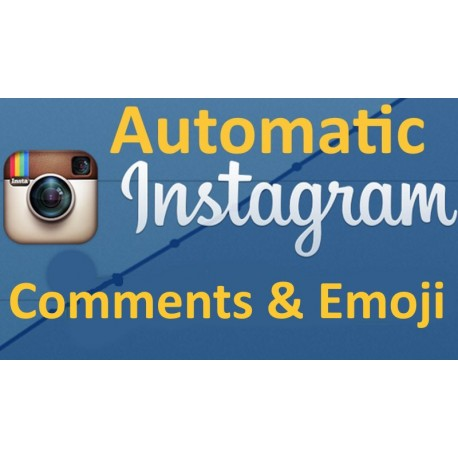 Buy Instagram Auto Comments Emoji