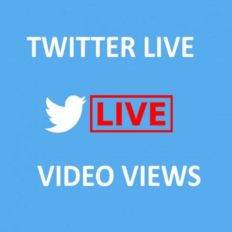 Buy Twitter Live Views Viewers