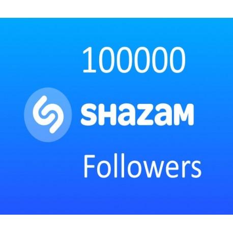 Buy Shazam Followers
