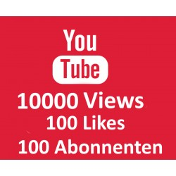 YOUTUBE PAKET VIEWS LIKES ABONNENTEN