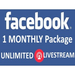 Buy Facebook Live Stream Viewers Unlimited Monathly