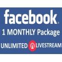 Buy Facebook Live Stream Viewers Monathly