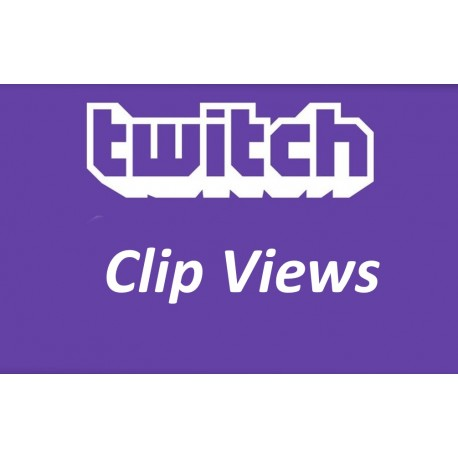 Buy Twitch Clip Views