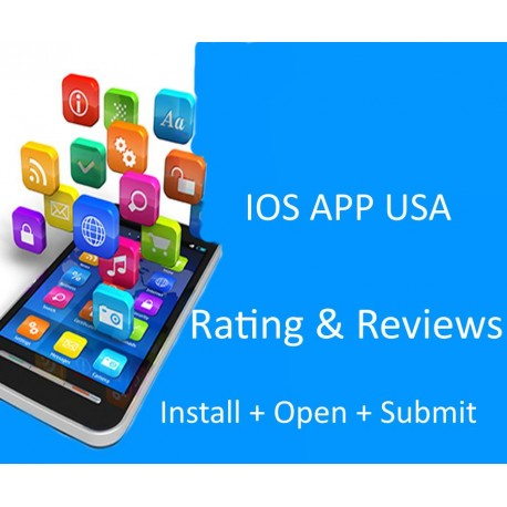 Buy IOS APP 5 Stars Rating & Reviews