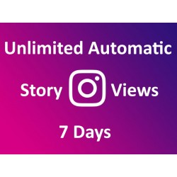 Buy automatic Instagram story views 7 days