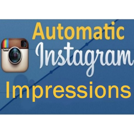 Buy Instagram Automatic Impressionen