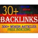 High PR DA Deutsche Backlinks mit Keyword-bezogenen Inhalten