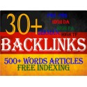 High PR DA German seo backlinks with keyword related content
