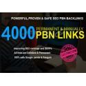 4000 dofollow PBN SEO Backlinks für das Google Ranking