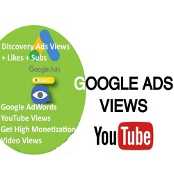 BUY YOUTUBE GOOGLE ADS VIDEO VIEWS