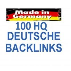 100+ HQ Deutsche Backlinks DE. 100% Handeinträge SEO Linkaufbau
