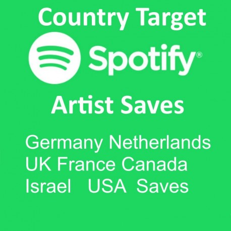 Buy Spotify Artist Saves