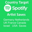 Buy Country Spotify Artist Saves
