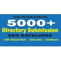 Buy 5000 Directory Submission Backlinks