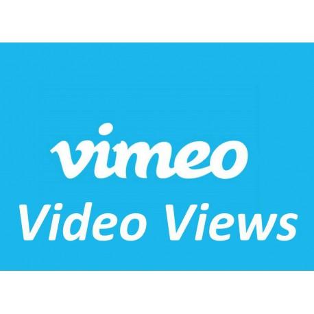Vimeo Views / Aufrufe Kaufen