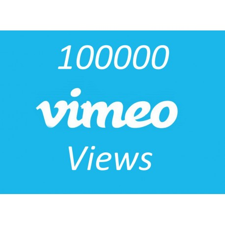 Buy 100000 Vimeo Views