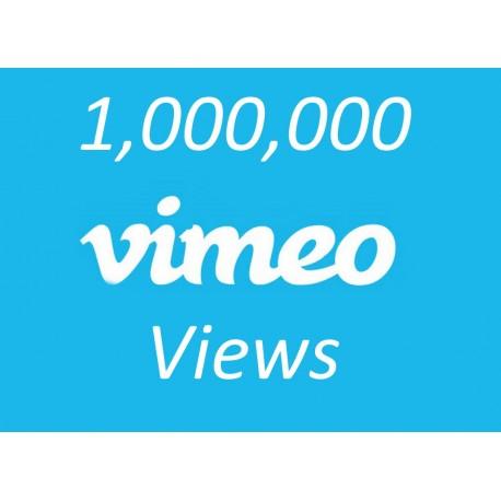 Buy 1000000 Vimeo Views