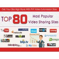 Wir tragen ihr Video in 80 PR 4-9 Portalen ein + Backlinks