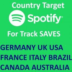 Länder Spotify Track Saves Kaufen