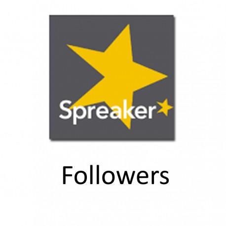 Buy Spreaker Followers