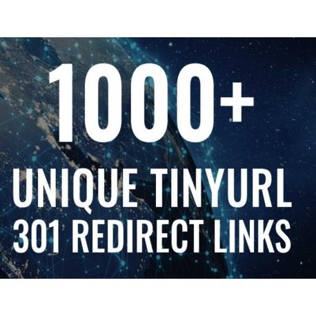 1000+ TinyURL 301 URL Shortener SEO Backlinks