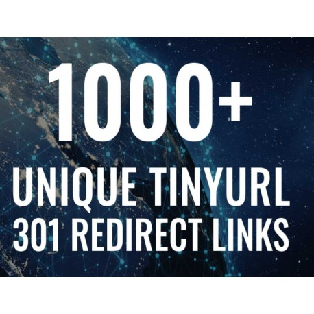 Buy 1000+ Unique TinyURL 301 Redirect URL Shortener Backlinks