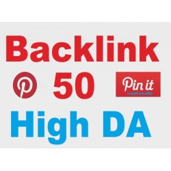 Buy High-Quality 50 Pinterest Pin Backlinks