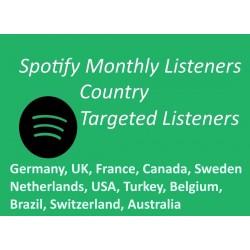 Deutsche Monatliche Spotify Hörer Kaufen