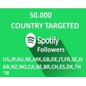 Buy Targeted Spotify Follower