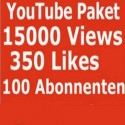 YOUTUBE PAKET 15000 KLICKS + 350 LIKES + 100 ABONNENTEN