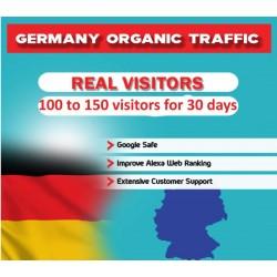 Deutsche Webseite Traffic für 30 Tage
