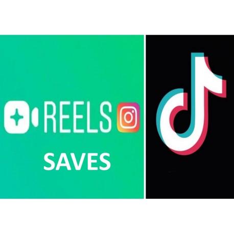 Instagram reel Saves