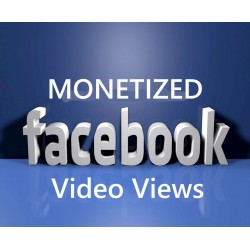 FACEBOOK Monetizable Views Kaufen