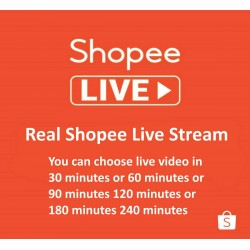 Buy Shopee Live Stream Views