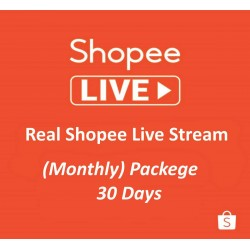 Buy Shopee Live Video Views Month